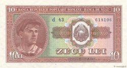 10 Lei ROUMANIE  1952 P.088b pr.NEUF