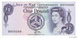 1 Pound ÎLE DE MAN  1979 P.34a pr.NEUF