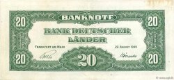 20 Deutsche Mark ALLEMAGNE  1949 P.017a pr.SUP