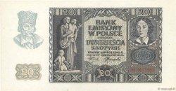 20 Zlotych POLOGNE  1940 P.095 NEUF