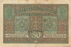 50 Marek POLOGNE  1917 P.005 TTB
