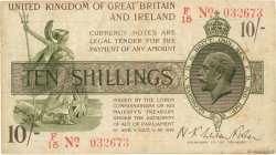 10 Shillings ANGLETERRE  1919 P.356 TB+