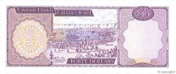40 Dollars ÎLES CAIMANS  1981 P.09a pr.NEUF
