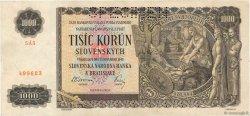 1000 Korun SLOVAQUIE  1940 P.13a TTB
