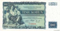 1000 Korun TCHÉCOSLOVAQUIE  1934 P.026s pr.NEUF