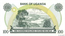 100 Shillings OUGANDA  1973 P.09c pr.NEUF