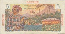 5 Francs Bougainville GUYANE  1946 P.19a pr.SUP