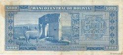 5000 Bolivianos BOLIVIE  1945 P.145 TB à TTB