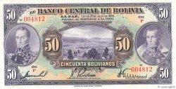 50 Bolivianos BOLIVIE  1928 P.124a SPL+