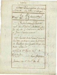480 Livres FRANCE régionalisme et divers Bordeaux 1797  TTB
