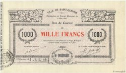 1000 Francs FRANCE regionalism and various  1915 JPNEC.02.2067 XF