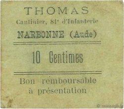 10 Centimes FRANCE régionalisme et divers  1914 JPNEC.11. TTB