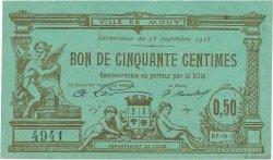 50 Centimes FRANCE régionalisme et divers  1915 JPNEC.60.47 TTB+