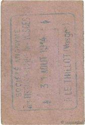 1 Franc FRANCE régionalisme et divers  1914 JPNEC.88.108 SUP