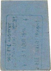 2 Francs FRANCE régionalisme et divers LE THILLOT 1914 JPNEC.88.109 TTB