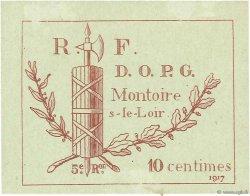 10 Centimes FRANCE régionalisme et divers MONTOIRE 1917 JPNEC.41.09 SPL