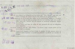 5 NF sur 500 Francs FRANCE régionalisme et divers Lille 1959  TTB+