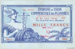 10 NF sur 1000 Francs FRANCE régionalisme et divers LILLE 1959  TTB