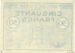 50 Francs FRANCE régionalisme et divers Colmar 1940 K.016 pr.NEUF