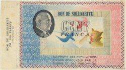 100 Francs FRANCE régionalisme et divers  1941  TTB