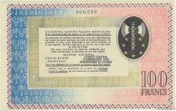 100 Francs FRANCE régionalisme et divers  1941  SPL