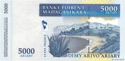 25000 Francs - 5000 Ariary MADAGASCAR  2003 P.84 NEUF