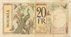 20 Francs NOUVELLE CALÉDONIE  1936 P.37b pr.TTB
