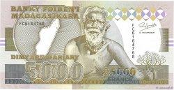 25000 Francs - 5000 Ariary MADAGASCAR  1993 P.74Aa NEUF