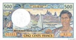 500 Francs TAHITI  1985 P.25d pr.NEUF