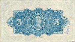5 Francs type Américain MARTINIQUE  1942 P.16b TTB