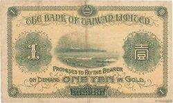 1 Yen CHINE  1915 P.1921 TTB