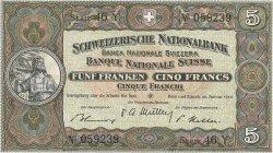 5 Francs SUISSE  1949 P.11n pr.NEUF
