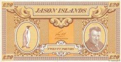 20 Pounds ILES JASON  1978 P.-- NEUF