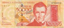 50000 Bolivares VENEZUELA  2006 P.087b NEUF