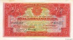 1/2 Libra MOZAMBIQUE  1934 P.R30a SPL+