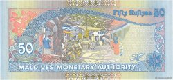 50 Rufiyaa MALDIVES  2000 P.21a NEUF