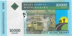 50000 Francs - 10000 Ariary MADAGASCAR  2003 P.85 SPL