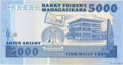 5000 Francs - 1000 Ariary MADAGASCAR  1983 P.69 NEUF