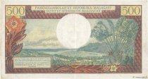 500 Francs - 100 Ariary MADAGASCAR  1966 P.58a pr.SUP