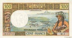 100 Francs TAHITI  1973 P.24b pr.NEUF