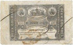 2 Gourdes HAÏTI  1827 P.042 TB