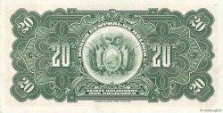 20 Bolivianos BOLIVIE  1928 P.122a SPL
