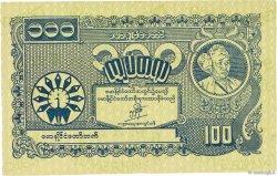 100 Kyats BIRMANIE  1945 P.22b SPL+
