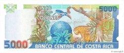 5000 Colones COSTA RICA  1992 P.260a NEUF