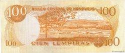100 Lempiras HONDURAS  1976 P.067c TTB+