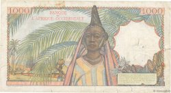1000 Francs AFRIQUE OCCIDENTALE FRANÇAISE (1895-1958)  1948 P.42 pr.TB