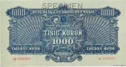 1000 Korun TCHÉCOSLOVAQUIE  1944 P.050s SPL+