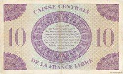 10 Francs type 1941 AFRIQUE ÉQUATORIALE FRANÇAISE  1943 P.11a TTB