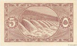 5 Piastres ÉGYPTE  1940 P.163 pr.NEUF