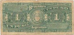 1 Peso ARGENTINE  1895 P.218a B+